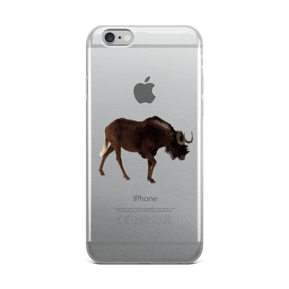 Wilderbeast Print iPhone Case