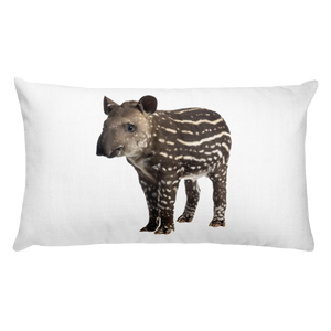 Tapir print Rectangular Pillow