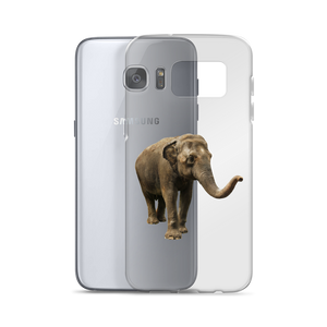 Indian-Elephant- Print Samsung Case