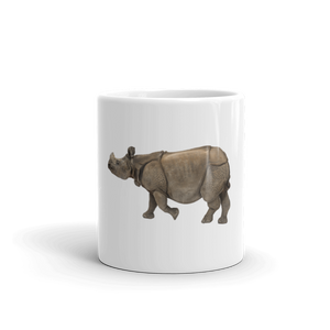 Indian-Rhinoceros Mug