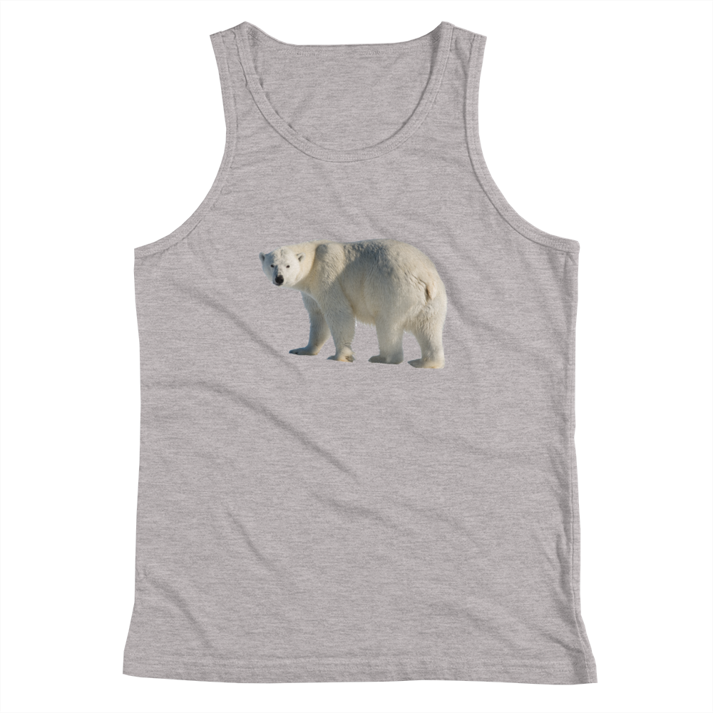 Polar-Bear- Print Youth Tank Top