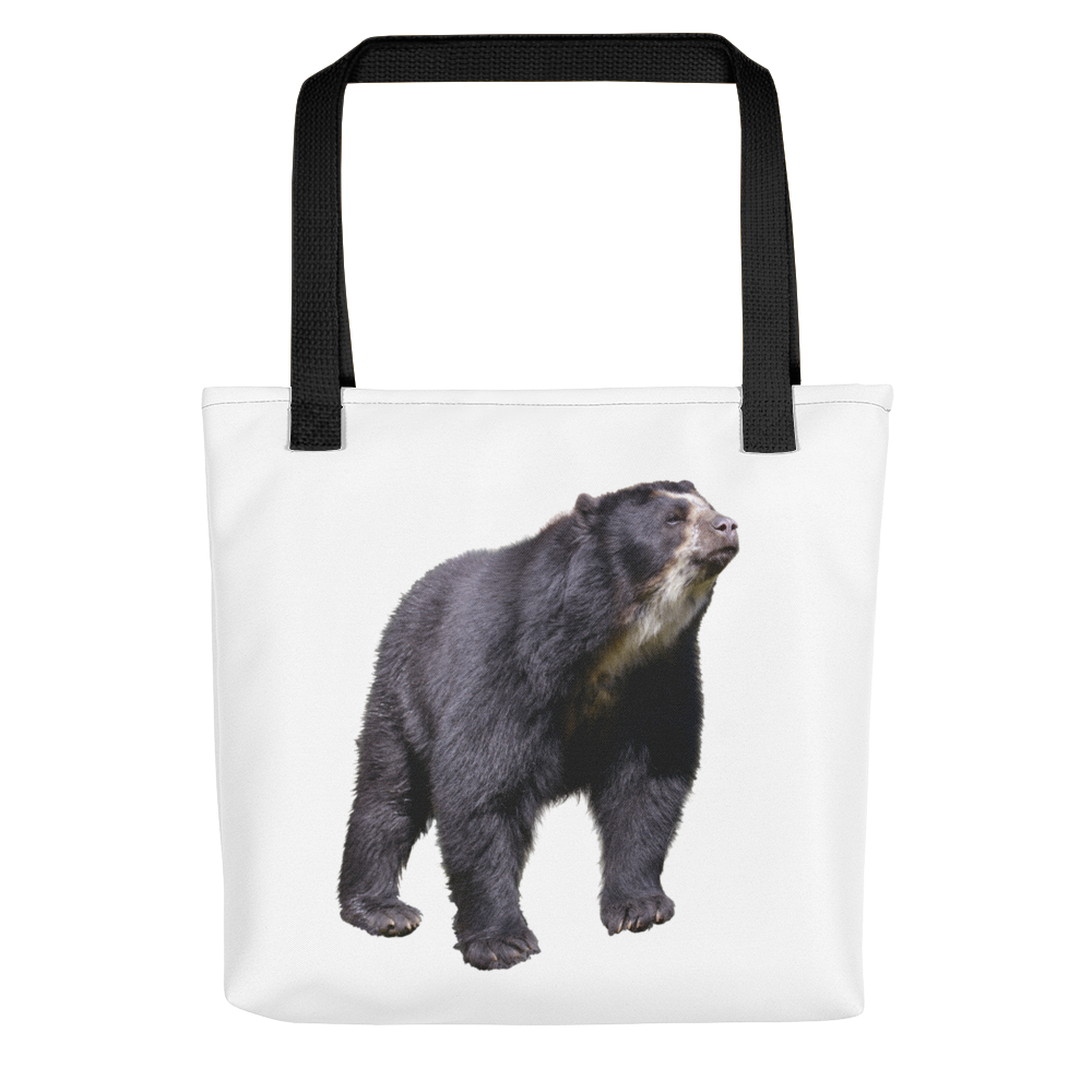 Specticaled-Bear Print Tote bag