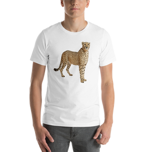 Cheetah Print Short-Sleeve Unisex T-Shirt