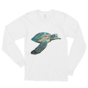 Sea-Turtle Print Long sleeve t-shirt (unisex)