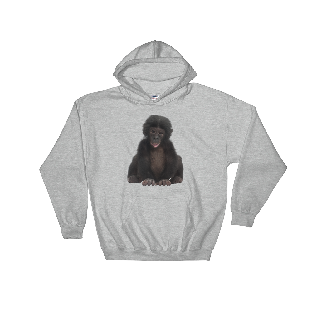 Bonobo Print Hooded Sweatshirt