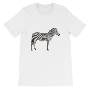 Zebra Short-Sleeve Unisex T-Shirt