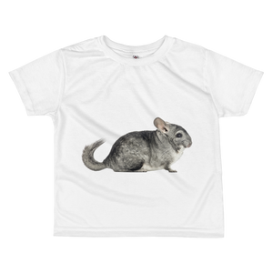Chinchilla Print All-over kids sublimation T-shirt