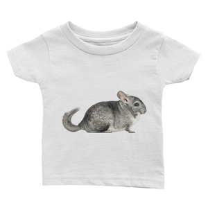 Chinchilla Print Infant Tee