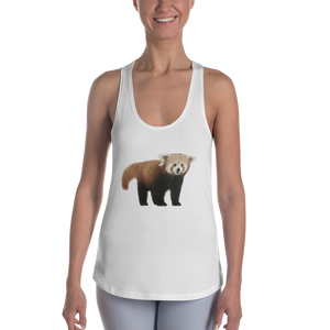 Red-PandaPrint Women's Racerback Tank
