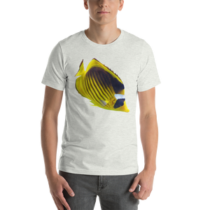 Butterfly Fish Print Short-Sleeve Unisex T-Shirt