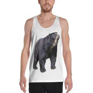 Spectacled Bear Print Unisex Tank Top