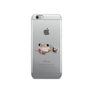 Tarsier-Frog Print iPhone Case