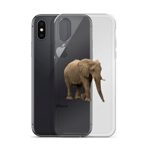 African-Forrest-Elephant Print iPhone Case