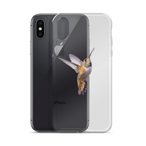 Hummingbird Print iPhone Case