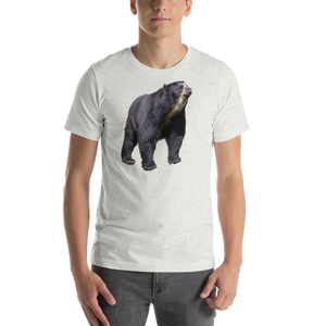 Spectacled Bear Print Short-Sleeve Unisex T-Shirt