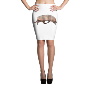 Armadillo Print Pencil Skirt