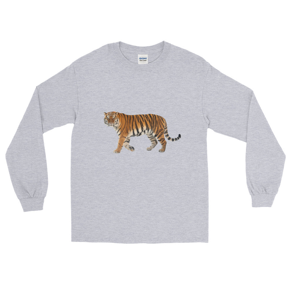 Siberian-Tiger Long Sleeve T-Shirt