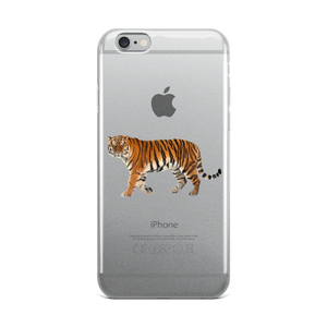 Siberian-Tiger Print iPhone Case