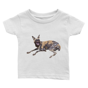 African-Wild-Dog Print Infant Tee