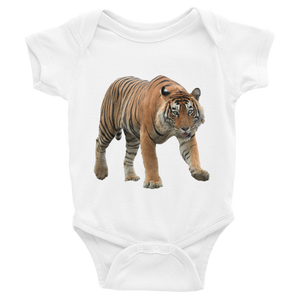 Bengal-Tiger Print Infant Bodysuit