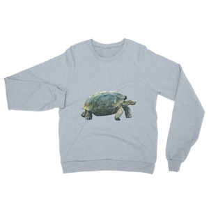 Galapagos-Giant-Turtle print Unisex California Fleece Raglan Sweatshirt