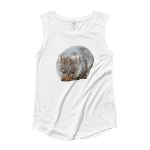 Wombat Ladies‰۪ Cap Sleeve T-Shirt