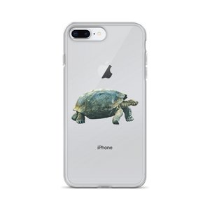 Galapagos-Giant-Turtle Print iPhone Case