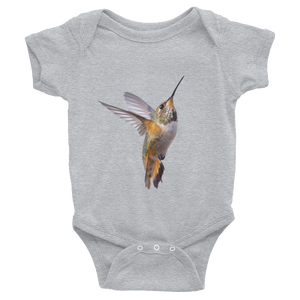 Hummingbird Print Infant Bodysuit