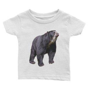 Specticaled-Bear Print Infant Tee