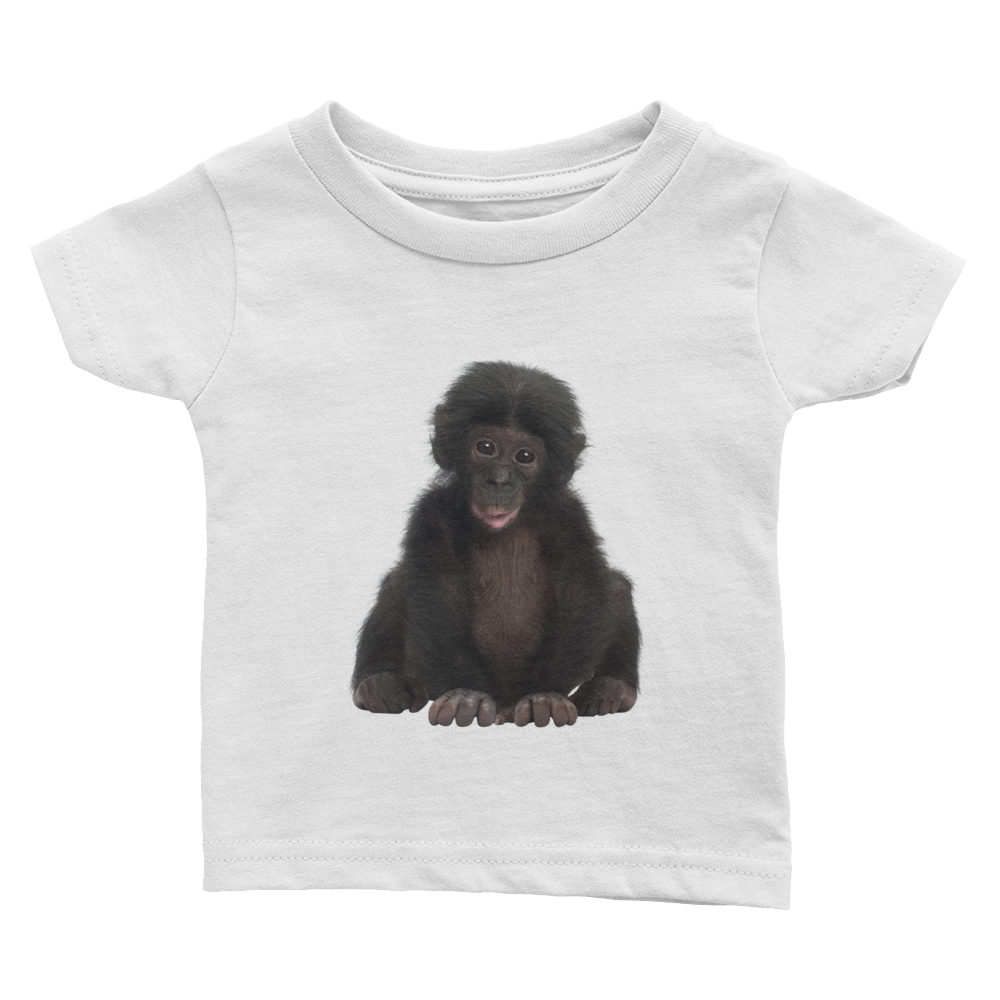 Bonobo Print Infant Tee
