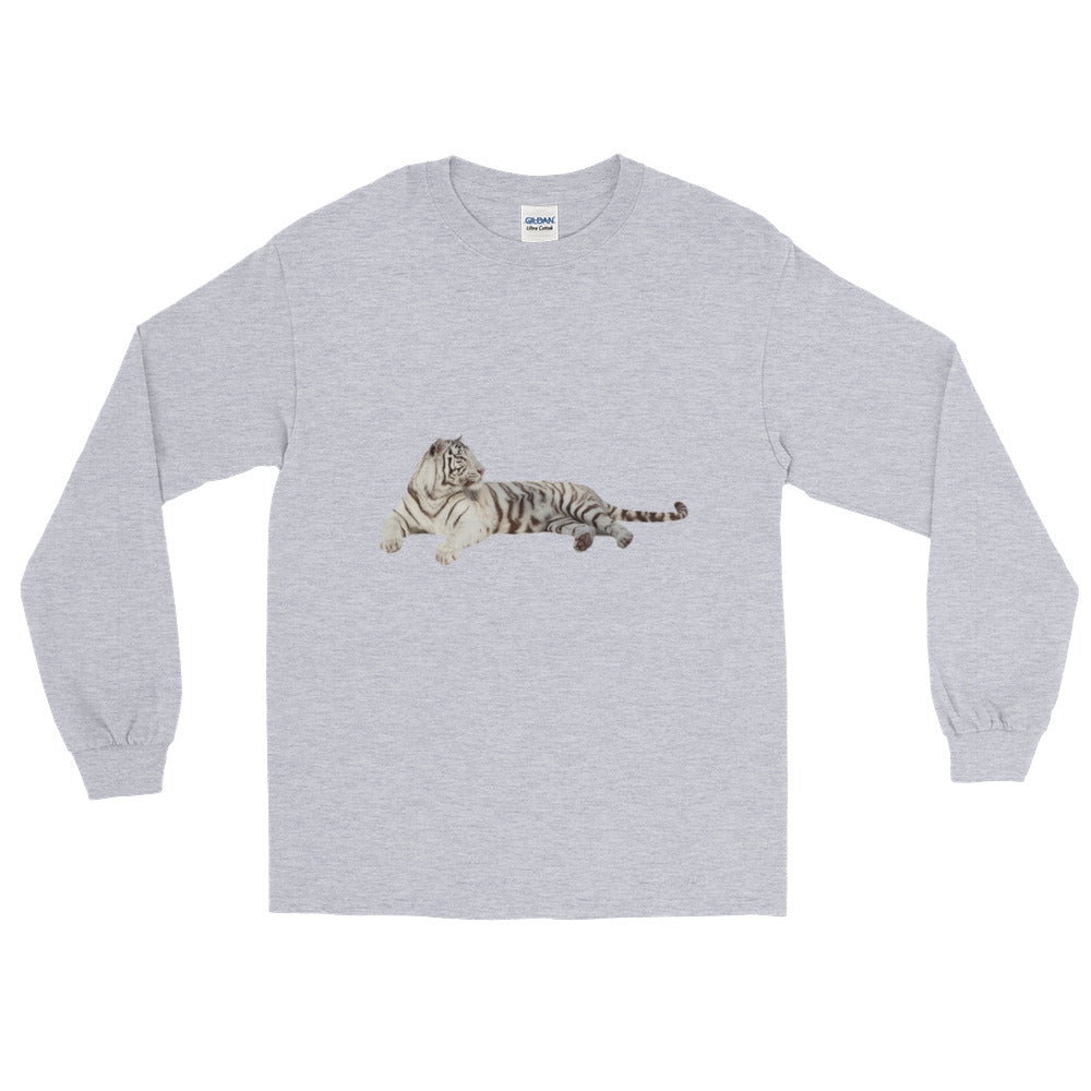White-Tiger Long Sleeve T-Shirt