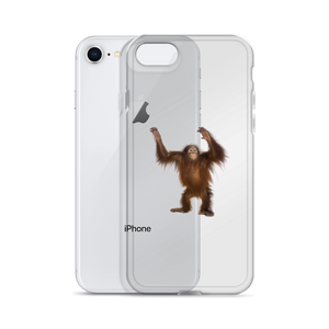 Orang-utan Print iPhone Case
