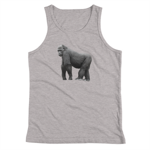 Gorilla Print Youth Tank Top