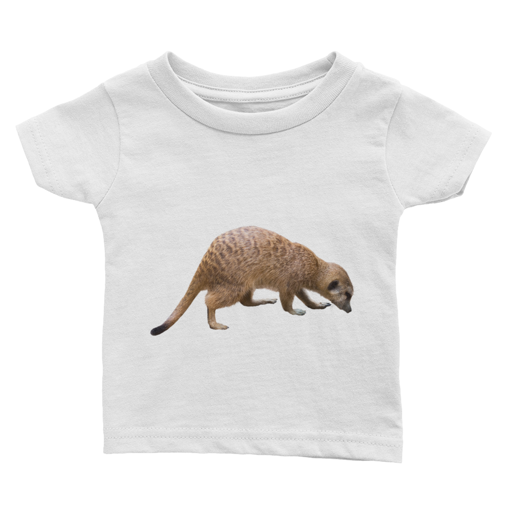 Mongoose Print Infant Tee