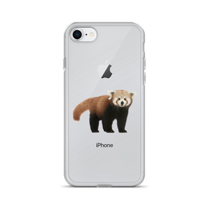 Red-Panda Print iPhone Case