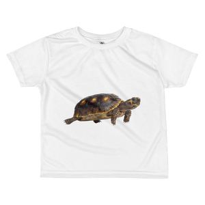 Tortoise Print All-over kids sublimation T-shirt