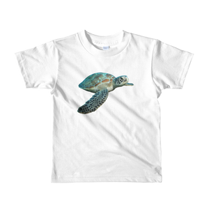 Sea-Turtle Print Short sleeve kids t-shirt