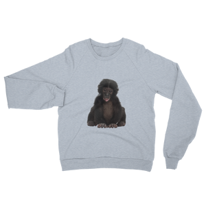 Bonobo- print Unisex California Fleece Raglan Sweatshirt