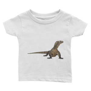 Komodo-Dragon Print Infant Tee