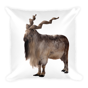 Markhoor Print Square Pillow