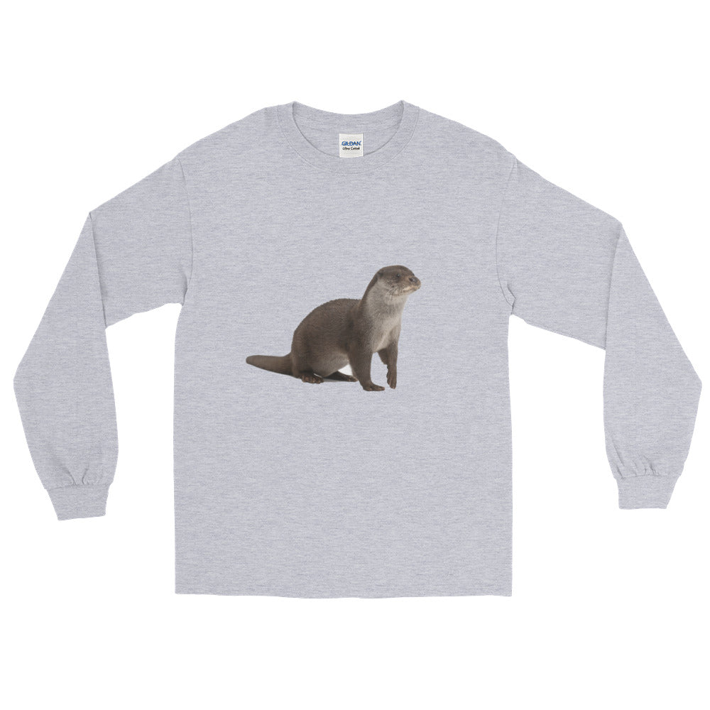 European-Otter Long Sleeve T-Shirt