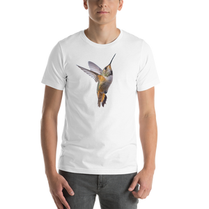 Hummingbird Print Short-Sleeve Unisex T-Shirt