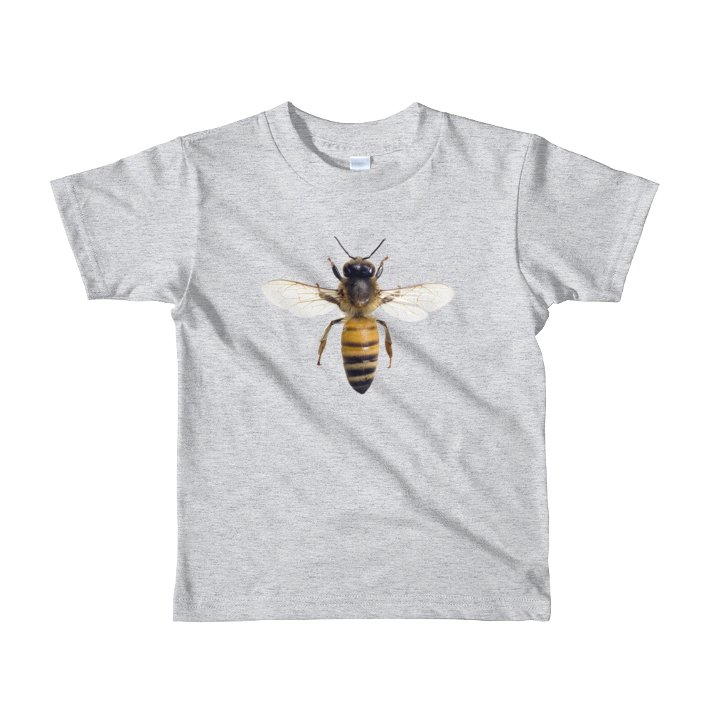Honey-Bee Print Short sleeve kids t-shirt