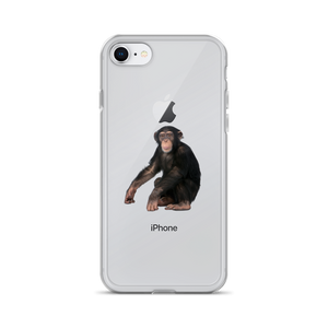 Chimpanzee Print iPhone Case