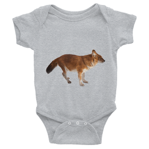 Dhole Print Infant Bodysuit