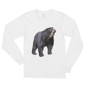Specticaled-Bear Print Long sleeve t-shirt (unisex)