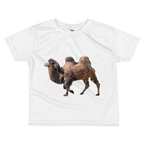 Bactrian-Camel- Print All-over kids sublimation T-shirt