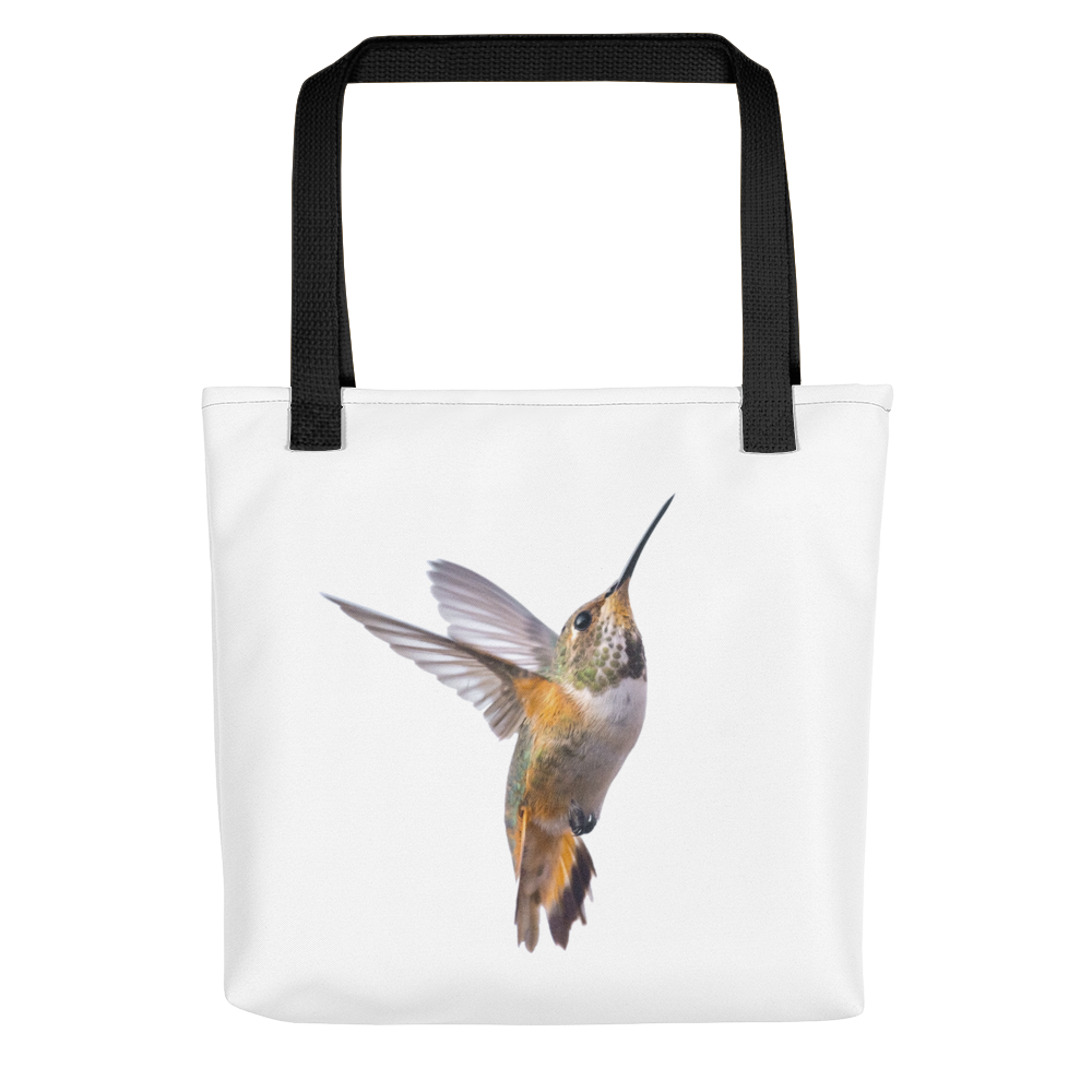 Hummingbird Print Tote bag