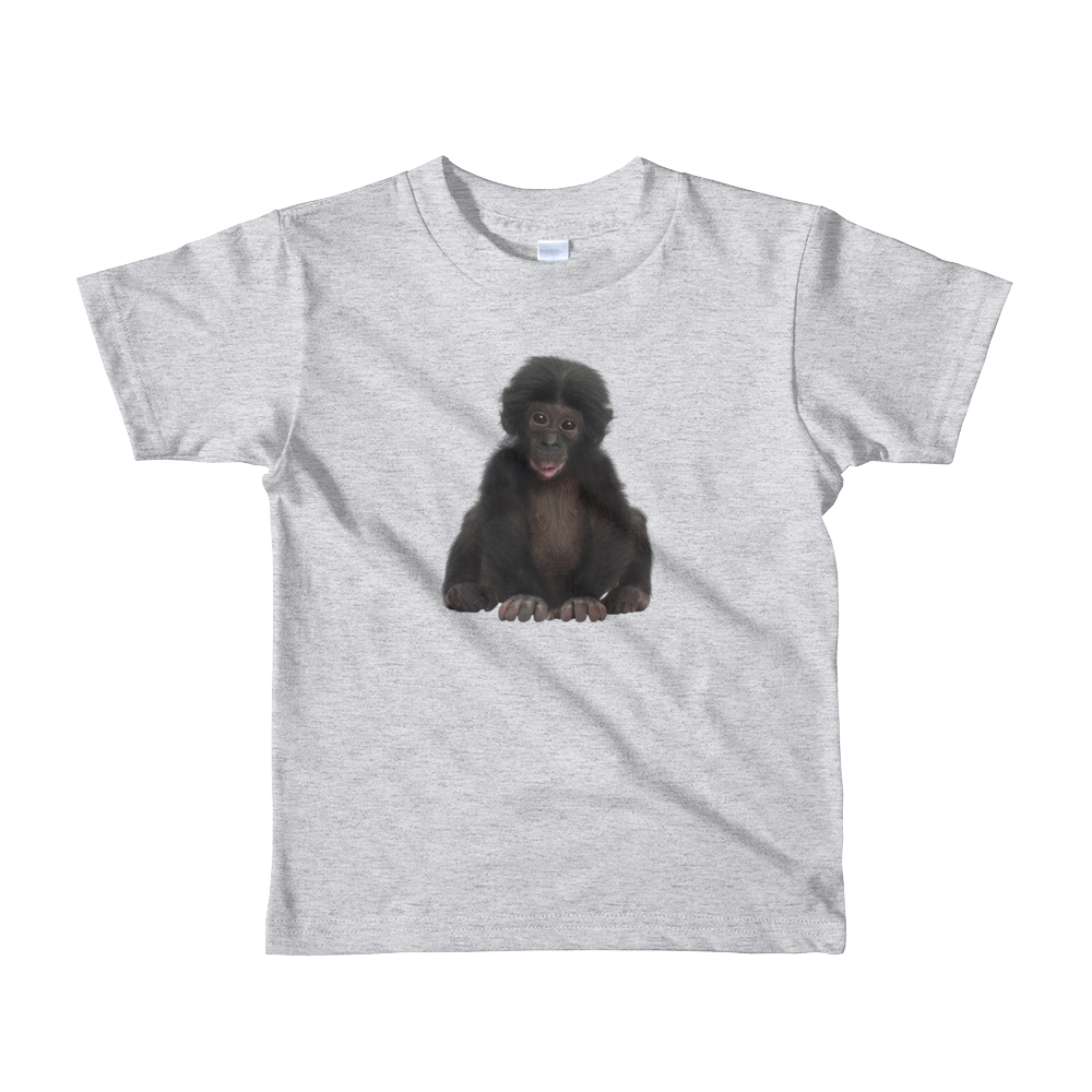 Bonobo Print Short sleeve kids t-shirt