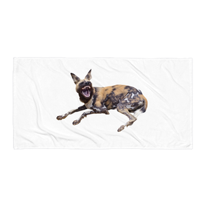 African-Wild-Dog- Towel